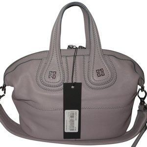 Nightingale SMALL Lavender Grey Goat Leather Bag